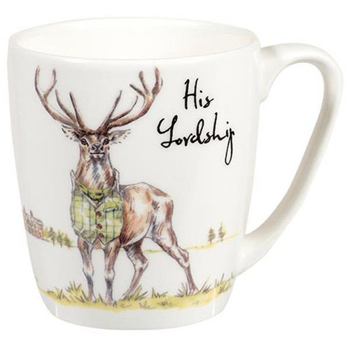 Churchill China Queens His Lordship Stag Mug