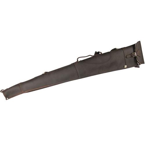 Teales Devonshire Leather Buckle Flap Gun Slip