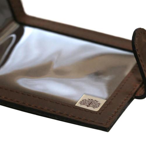 Teales Devonshire Single Leather Certificate Holder