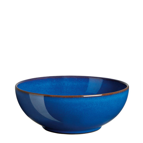 Denby Imperial Blue 12 Piece Coupe Tableware Set