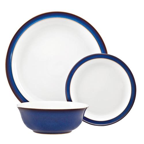 Denby Imperial Blue 12 Piece Tableware Set