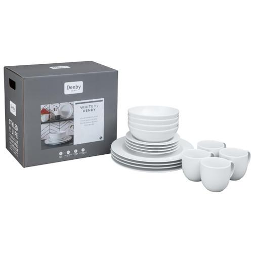 White by Denby 16pc Boxed Set