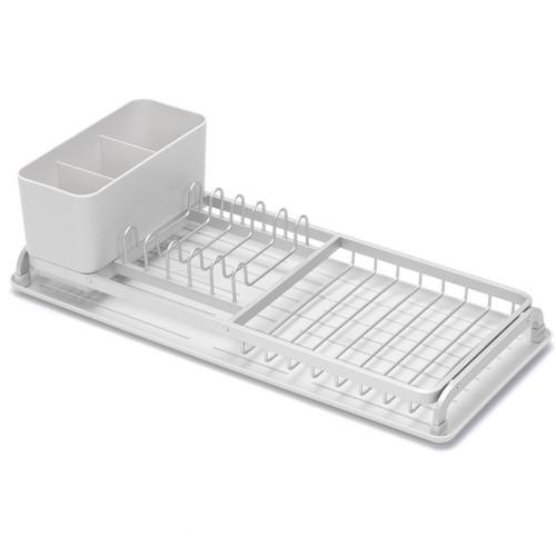 Light Grey Brabantia Compact Dish Drying Rack