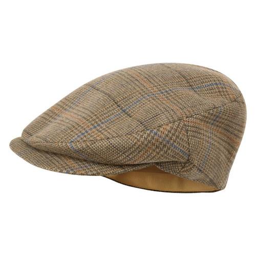 Arran Tweed Schoffel Mens Countryman Tweed Cap