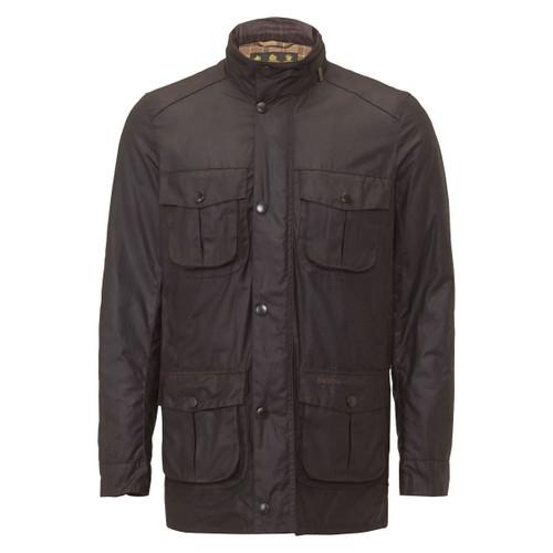 Rustic Barbour Mens Corbridge Wax Jacket