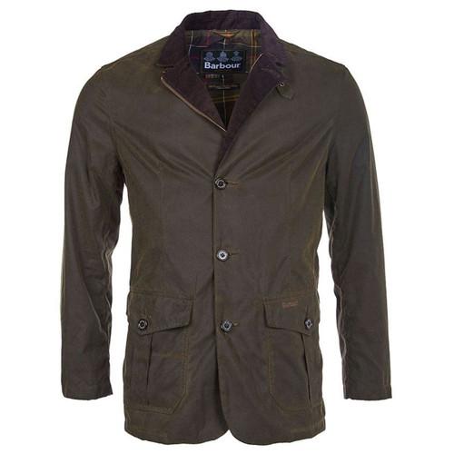 Barbour Mens Lutz Wax Jacket