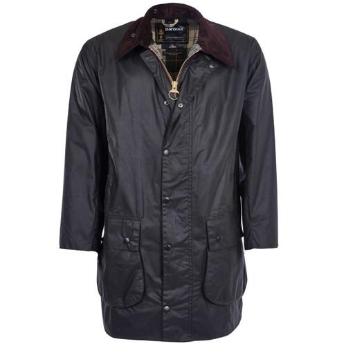 Sage Barbour Mens Border Wax Jacket