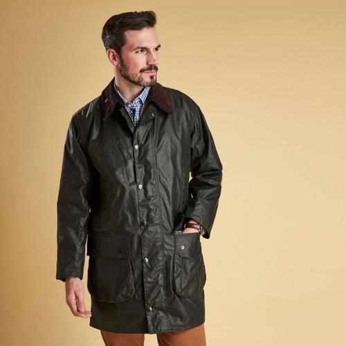 Barbour Mens Border Wax Jacket