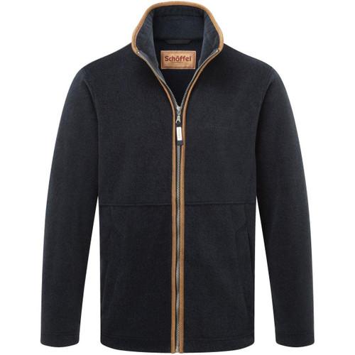 Navy Schoffel Mens Cottesmore Fleece Jacket