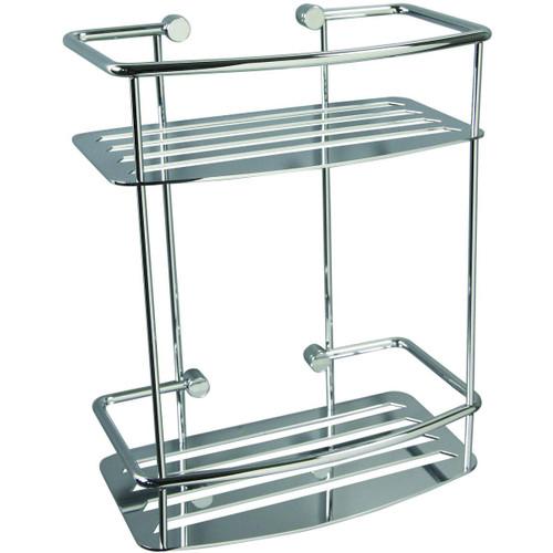 Miller Classic D Shape Shower Shelf