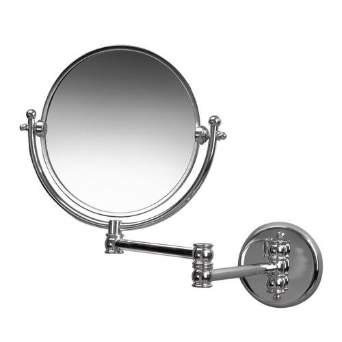 Miller Mirror Chrome Wall Mounted Mirror
