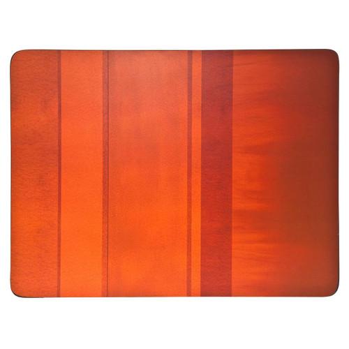 Denby Colours Orange Set Of 6 Placemats