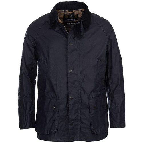 Royal Navy Barbour Mens Lightweight Ashby Wax Jacket