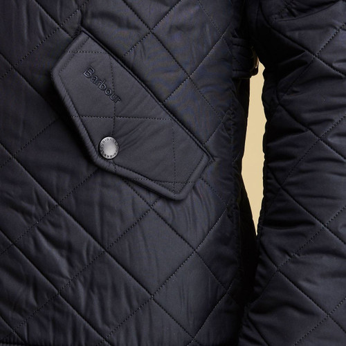 Barbour Mens Powell Quilted Jacket Pocket
