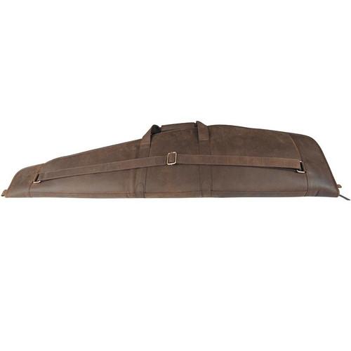 Oiled Teales Devonshire Leather Rifle Slip Zip Around