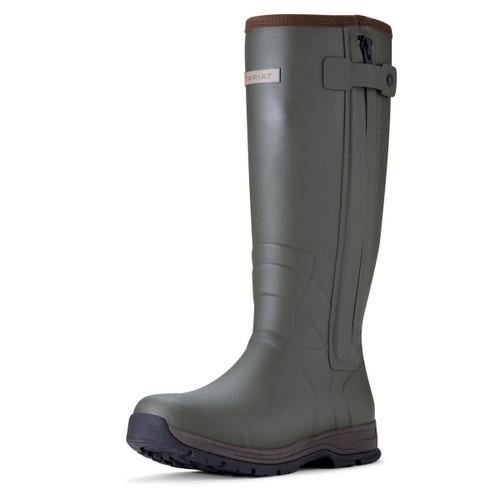 Ariat Men's Burford Insulated Zip Wellington Boots