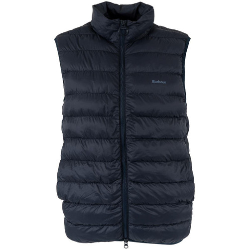 Navy Barbour Mens Bretby Quilted Gilet