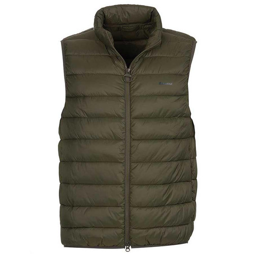 Olive Barbour Mens Bretby Quilted Gilet