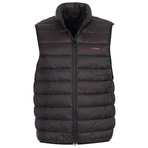 Black Barbour Mens Bretby Quilted Gilet