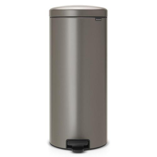 Platinum Brabantia newIcon Pedal Bin 30 Litre Plastic Bucket