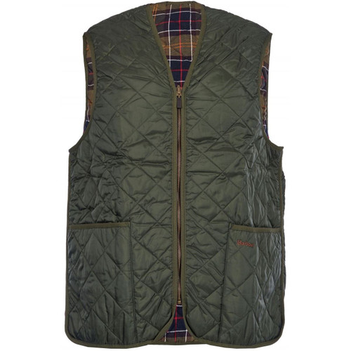 Barbour Mens Quilted Waistcoat Zip-In Liner