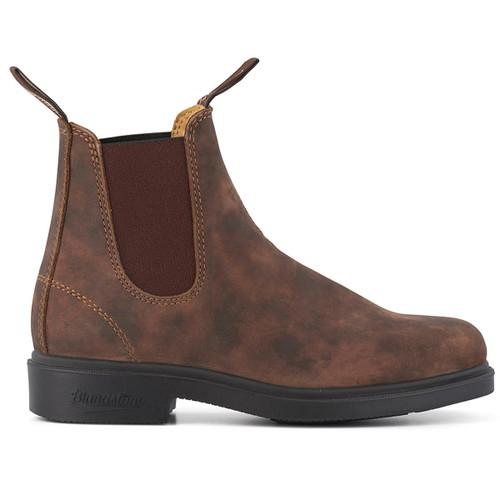 Rustic Brown Blundstone Dress Chisel 1306 Chelsea Boot