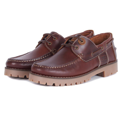 Mahogany Leather Stern Shoes