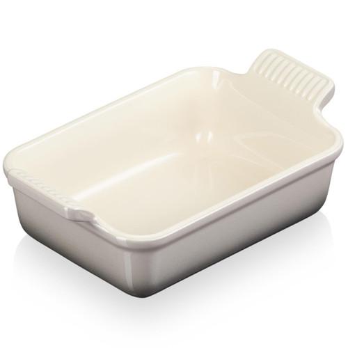 Flint Le Creuset 19cm Stoneware Heritage Rectangular Dish