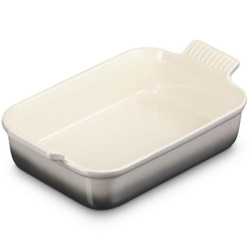 Flint Le Creuset 26cm Stoneware Heritage Rectangular Dish