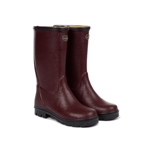 Cherry Le Chameau Petite Adventure Jersey Lined Boot