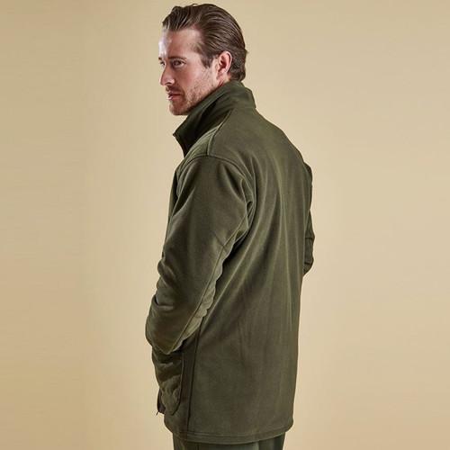 Barbour Mens Dunmoor Fleece Jacket Rear
