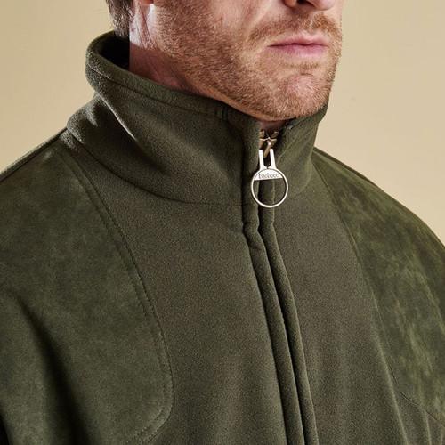 Barbour Mens Dunmoor Fleece Jacket Collar