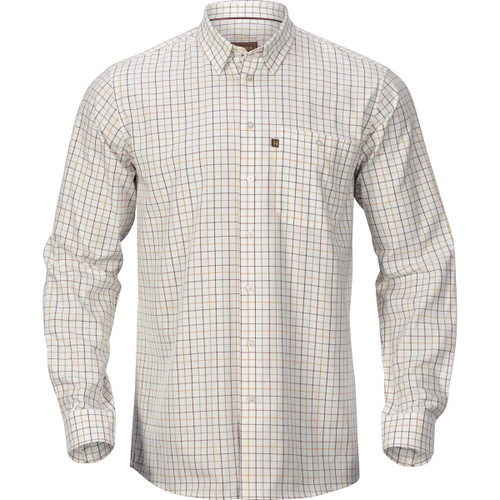 Burgundy Check  Harkila Mens Retrieve Shirt