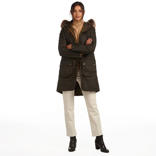 Barbour Womens Mull Wax Jacket