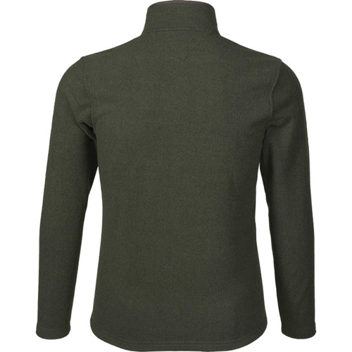 Classic Green Seeland Mens Woodcock Fleece Jacket Back