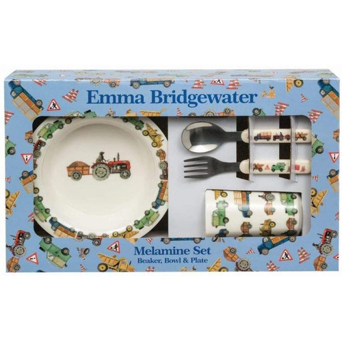 Emma Bridgewater Men At Work Melamine Dinnerware Set