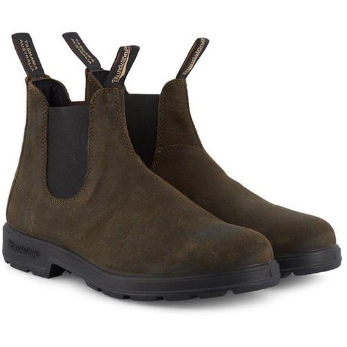 Dark Olive Blundstone 1615 Boots