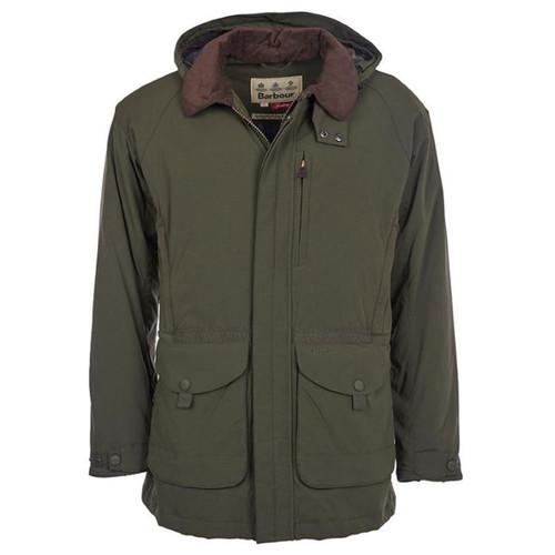 Forest Green Barbour Mens Bransdale Jacket