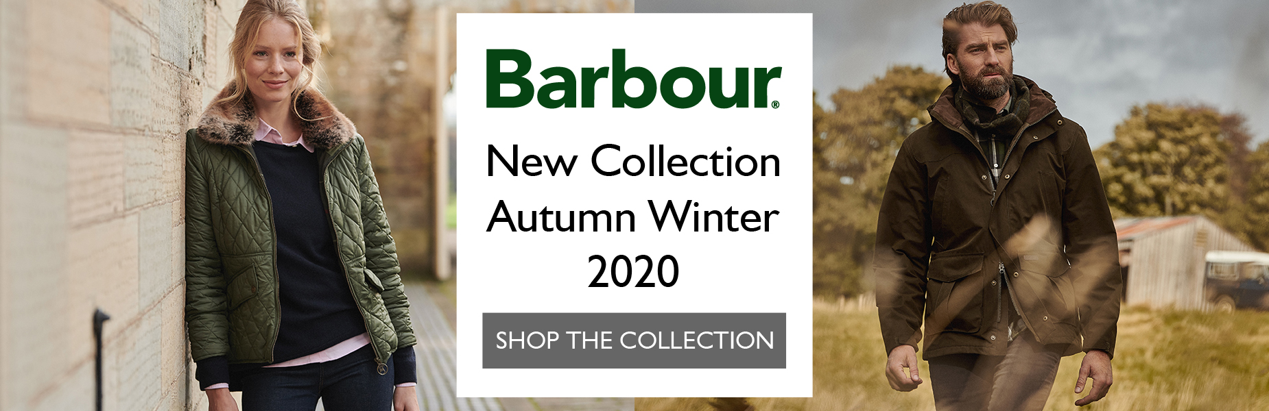Barbour New Collection AW20 - Shop Now