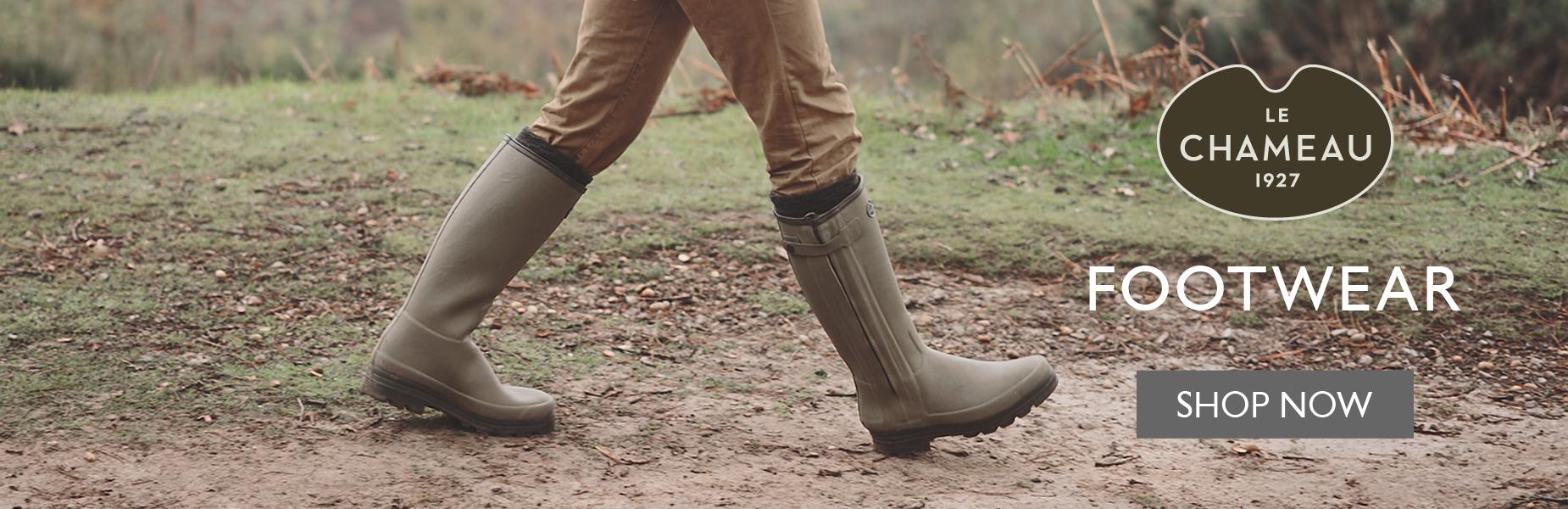 Le Chameau Footwear - Shop Now