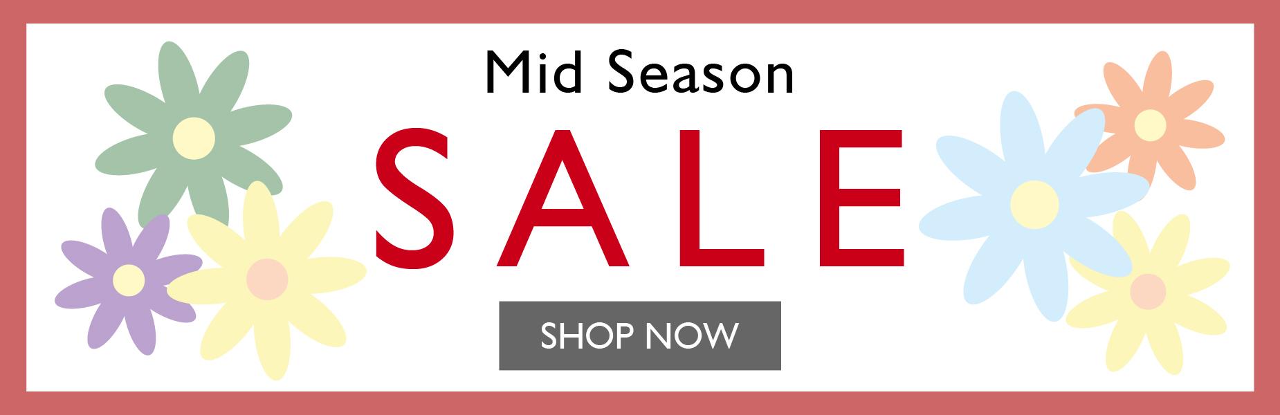 Mid Season Sale SS21 | Shop Now