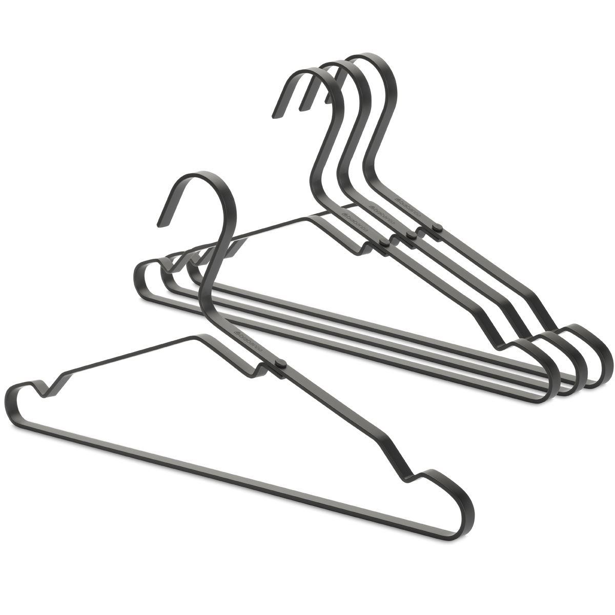 Brabantia Aluminium Clothes Hangers Black
