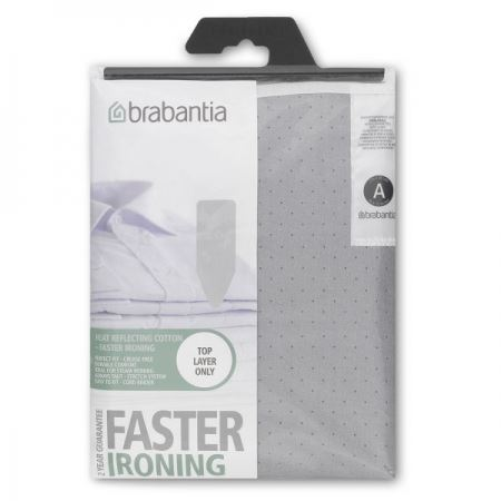 Brabantia Metallised Cotton Ironing Board Cover 110 x 30cm (Size A)