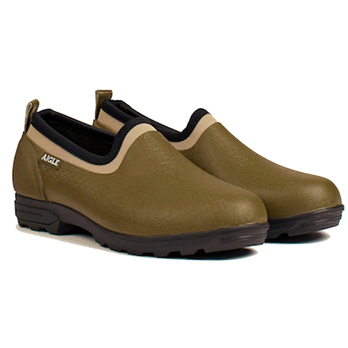 Aigle Unisex Lessfor Rubber Shoe Kaki 9.5 (EU44)