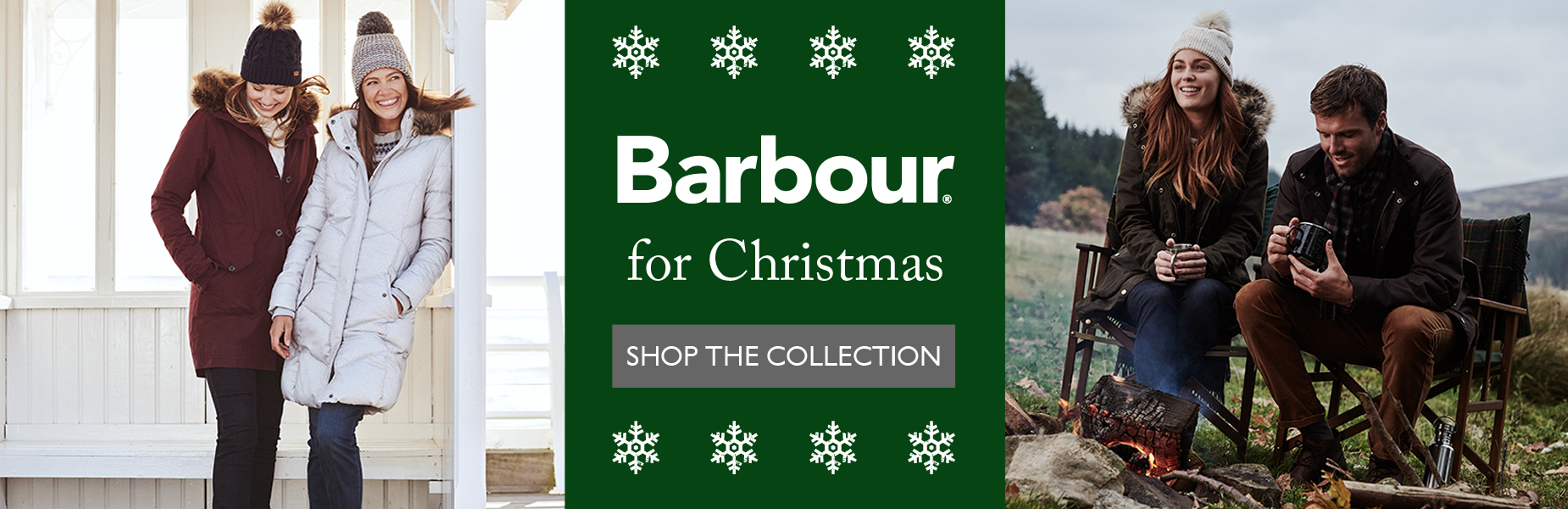 Barbour for Christmas - Shop Now
