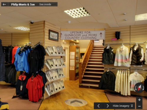 Browse the Philip Morris & Son store in 360 degrees