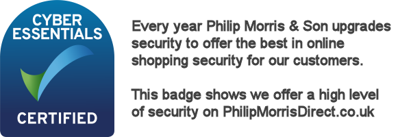 Philip Morris Direct Cyber Essentials Certified