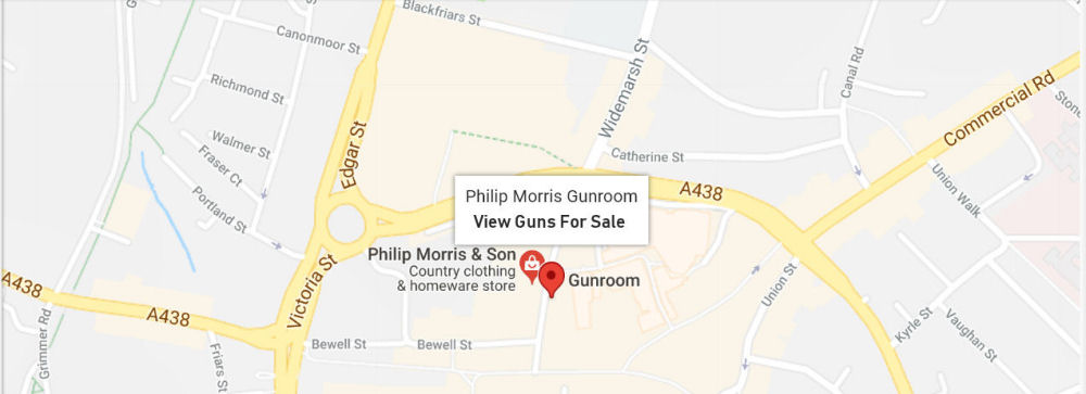 Philip Morris & Son Gunroom Map