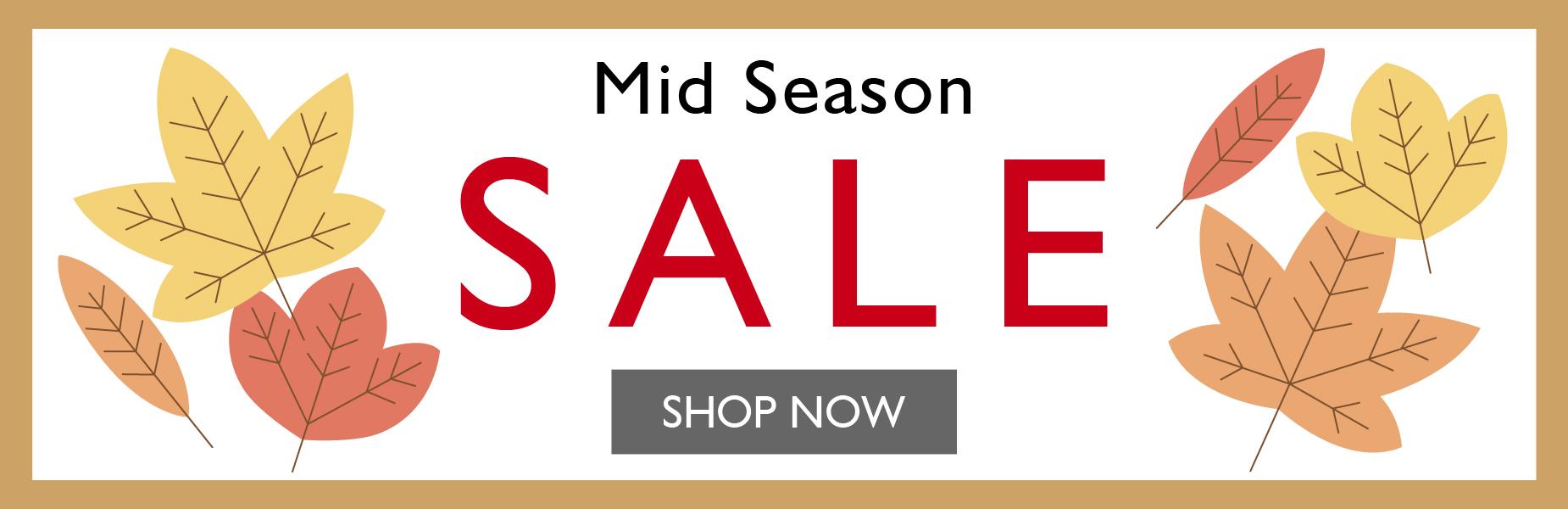 Mid Season SALE AW21 | Shop Now