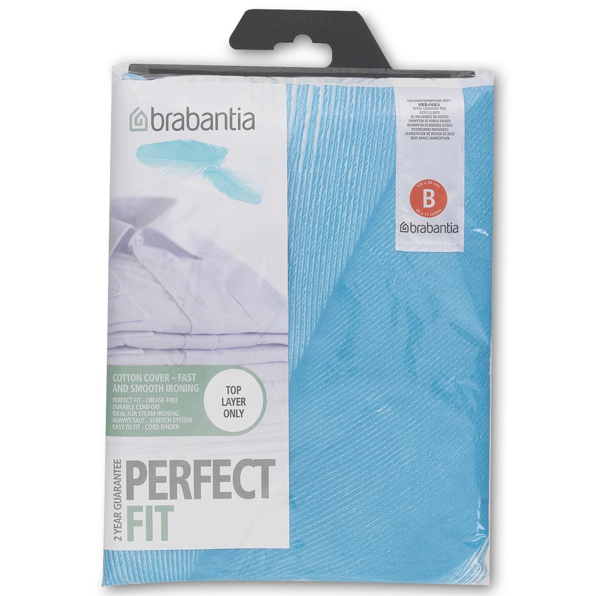 Brabantia Size B Ironing Board Cover Assorted Designs